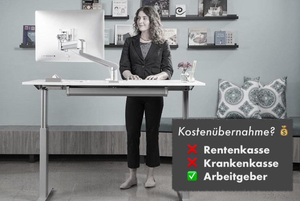 höhenverstellbarer schreibtisch krankenkasse